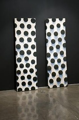 Wall Slab Pair, Jun Kaneko