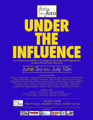 \'Under The Influence\' Student evite,
