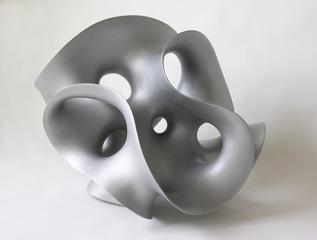 Aluminum sculpture, Eva Hild