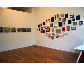 Hinterland Who\'s Who (installation shot), Blade Wynne, Sean Montgomery