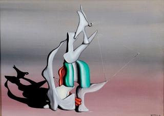 Over Seas, Yves Tanguy