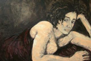 Reclining Nude - 1st Place Figurative, Fidan Shahin