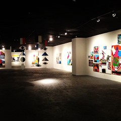 "Installation view: Eric Ernest Johnson ""Water & Power"","
