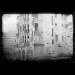 Zerstörtes Gebäude an der ehemaligen Grünen Linie, Beirut, Tanya Traboulsi