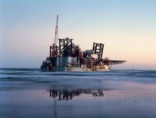 Ocean Warwick Oil Platform, Mitch Epstein
