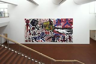 Ich in Deutschland (West), A. R. Penck
