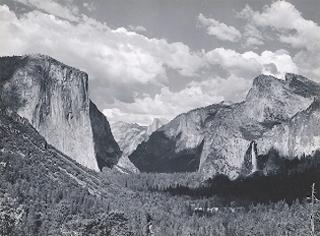 Yosemite Valley,Summer, Ansel Adams