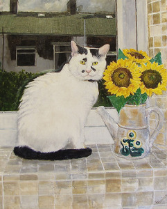 20110618053503-the_sunflowers_and_the_cat