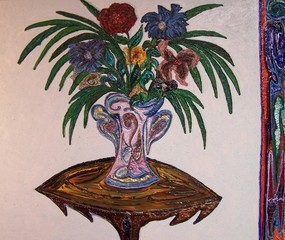 Pink Vase, Jose Acosta