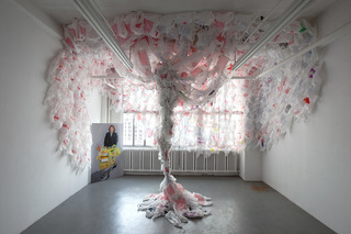 Winds Of Change...The Installation, Elizabeth Sowell-Zak