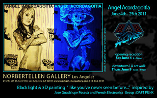 ALIVE - solo exhibition, Angel Acordagoitia