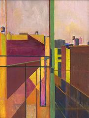 SOLD Structural Landscape #14, Gregg Rosen