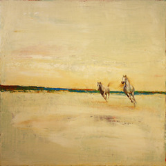 Two Horses in Cream,Greg Ragland