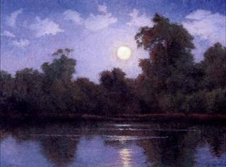 Bixby Slough Moonrise, Stephen Mirich