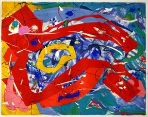 Untitled, Sam Francis