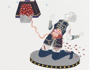 Mi Tigre, My Lover, detail, Naoe Suzuki
