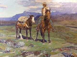 Life on the Trail, Frank Tenney Johnson