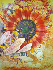 Where Are The Bees, Helen Klebesadel