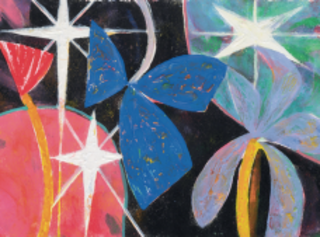 Song Beneath the Stars (detail), Gillian Ayres