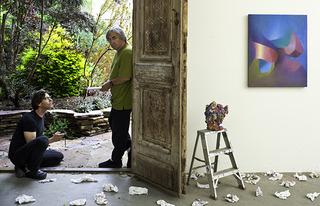 L: Lavi Daniel, R: Grant Mudford ,