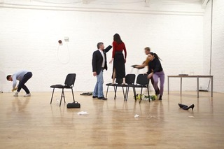 'Holding it Together' performed at Modern Art Oxford,Lucy Beech, Edward Thomasson