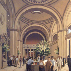 Lobby of the Met, Stan Washburn