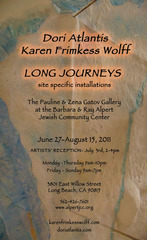Long Journeys-detail, Karen Frimkess Wolff & Dori Atlantis