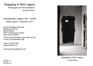 Engaging in their Legacy, Jaydee Dizon