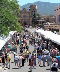New Mexico,The Spanish Market Santa Fe,Bill Hirsey, New Mexico, Bill Hirsey
