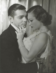 "Clark Gable and Joan Crawford for ""Dancing Lady"", George Hurrell"