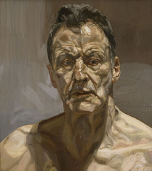 Reflection (Self-portrait), Lucian Freud