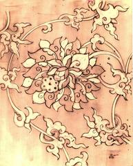 Lotus Drawing, Frank Messa