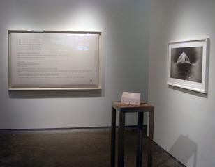 Accrochage installation view 4,