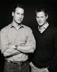 Prince William, Duke of Cambridge; Prince Henry of Wales,Fergus Greer