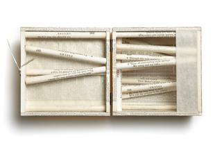 Sacred Poem LXX, detail, Carole P. Kunstadt
