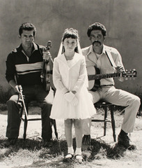 Girl with Musicians, from the series The Border, Douglas Kent Hall