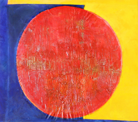 Red Yellow and Blue, Frank Bowling