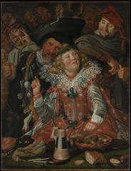 Merrymakers at Shrovetide, Frans Hals