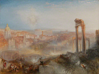 Modern RomeCampo Vaccino,Joseph Mallord William Turner