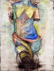 The French Watercolor Venus ,Jim Dine