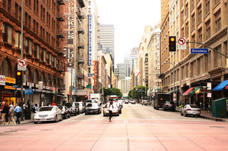 Broadway, Downtown Los Angeles  ,