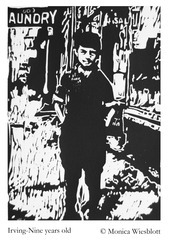 Irving-Nine years old, Monica Wiesblott