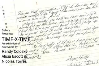 TIME x TIME, Alicia Escott, Randy Colosky, Nicolas Torres