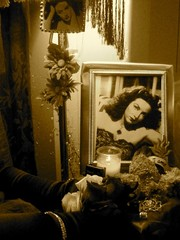Ofrenda Dedicated to Maria Felix by Martina Ayala,Photo Courtesy of Linette Morales