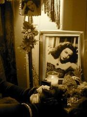 Ofrenda Dedicated to Maria Felix by Martina Ayala, Photo Courtesy of Linette Morales