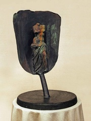 Lady and a Shovel,Jim Dine