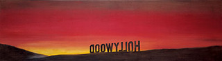 The Back of Hollywood,Edward Ruscha