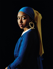 Girl with a Bamboo Earring,Awol Erizku