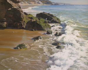 Laguna_beach_morning_24x30_oil_on_canvas_by_w