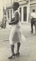 [Woman on the Street, Havana], Walker Evans